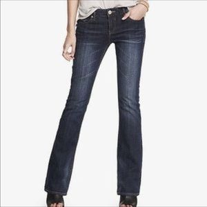 Express Stella Boot Low Rise Jeans Long Sz 12 12L